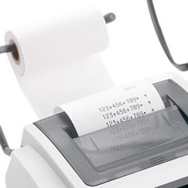 5 Rouleaux, bobines de caisse calculatrice Papier offset non thermique 57 x 70 x 12 pour imprimante avec ruban