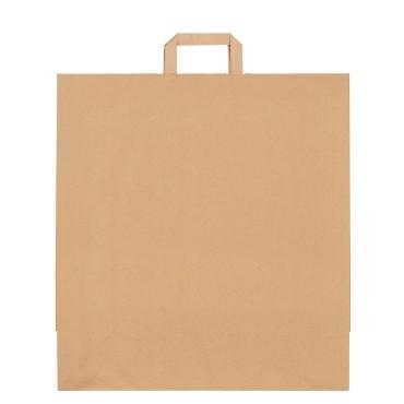 Sacs boutique papier 36 Litres avec poignées écru